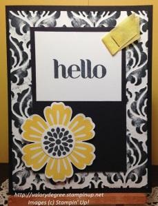Hello, Goodbye card