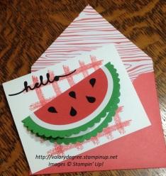 Cindy's card