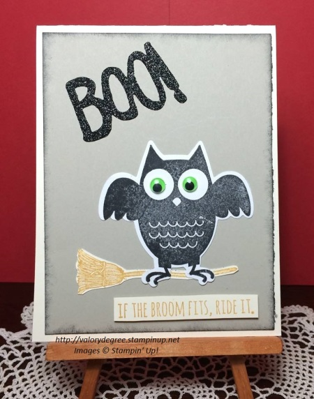 Owl & Broom