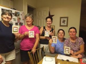 Five Window Cards
