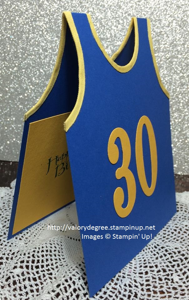Golden State Jersey side