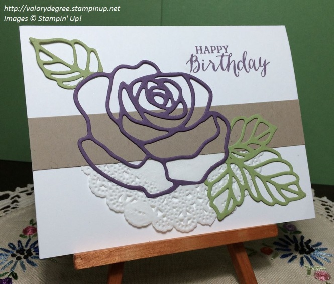 Plum Rose Birthday
