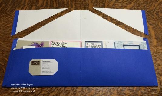 Card Folder Open