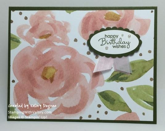 English Garden Roses Card