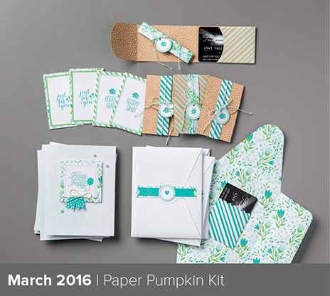 March 2016 Paper Pumpkin