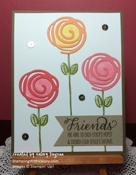 Swirly Scribbles Swap Card